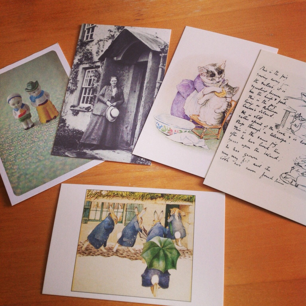 Postcrossing – my first cards sent!