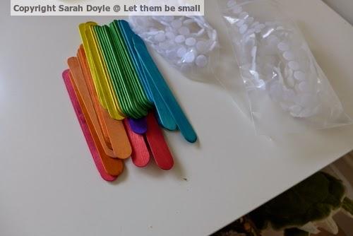 Craft Sticks & Velcro