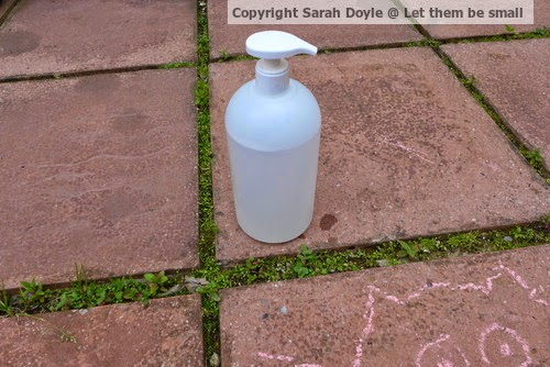 Simple toys – conditioner bottle