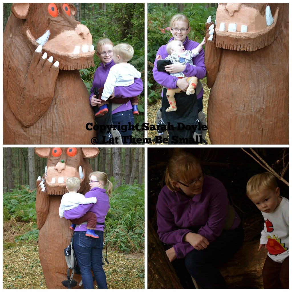 gruffalo at delamere forest