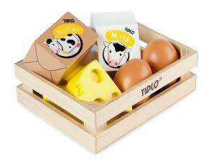 tidlo wooden play food