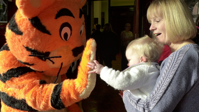 tiger who came to tea review epstein theatre