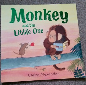 Monkey and the little one claire alexander