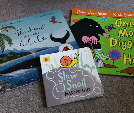 EYFS Snail books
