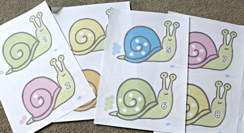 Snail counting Game