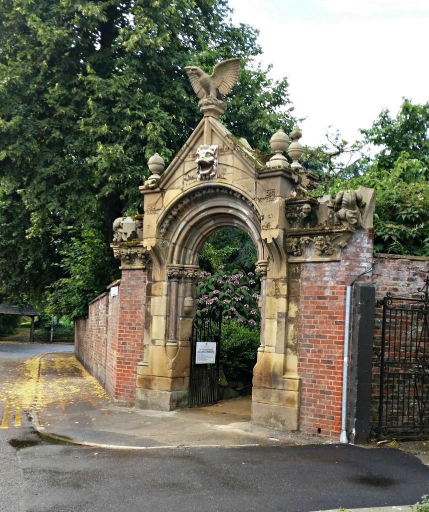 entrance to Parsonage Gardens Didsbury