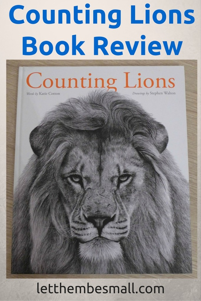 counting lions is a beautiful book to introduce ideas of conservation
