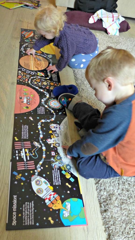sticker mat spaceship