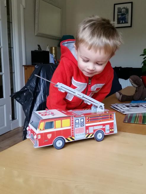 Junior Builders fire Engine