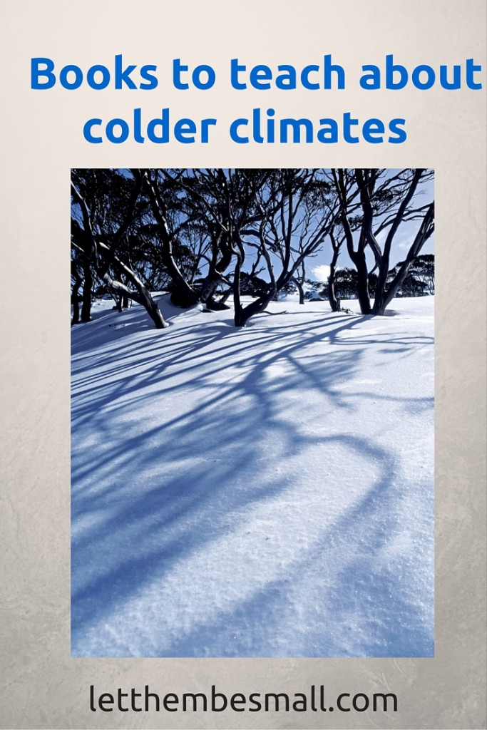 Pre school books about colder climates