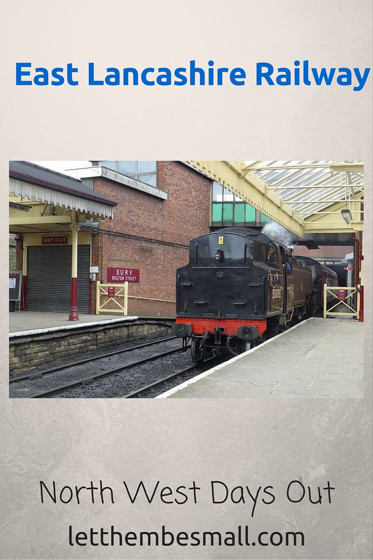 East Lancs Railway Bury Car Park