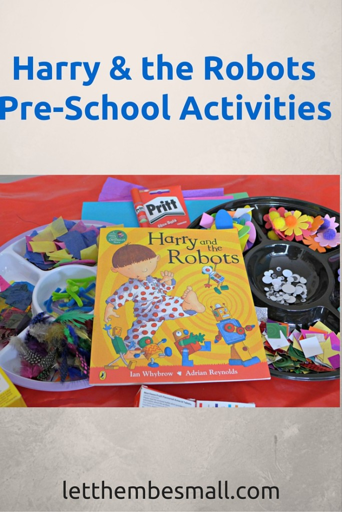 harry and the robots activities for pre schoolers