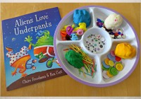 aliens love underpants invitation to play for toddlers and pre-schoolers