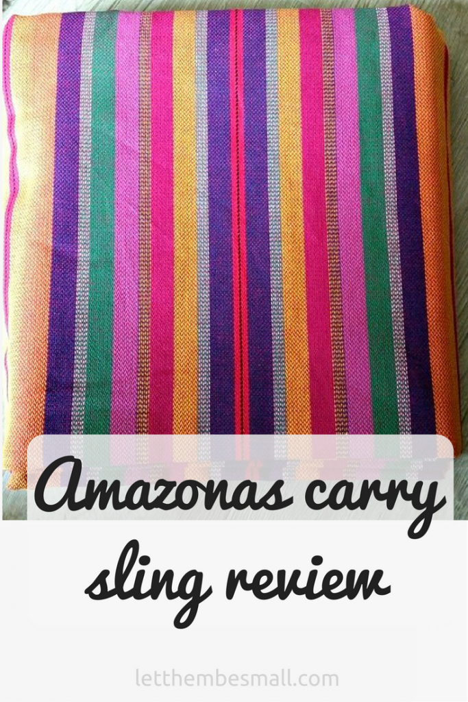 Amazonas carry sling review