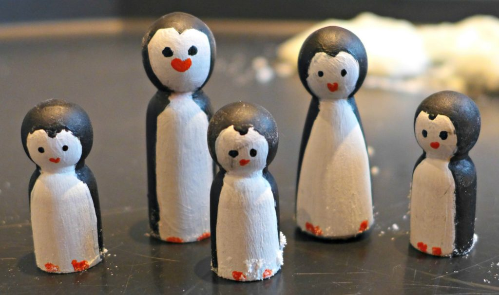 Peg doll penguin
