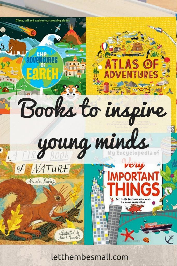 Brilliant Books to inspire young minds