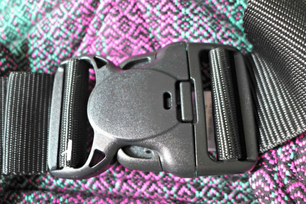 Lenny Lamb carrier review buckle detail