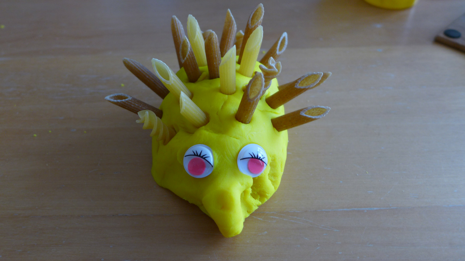 Playdoh Hedgehog Fun