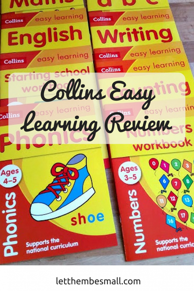 the collins easy learning range are great for encouraging pen control and learning