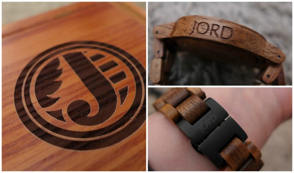unique watches from Jord Wood watches