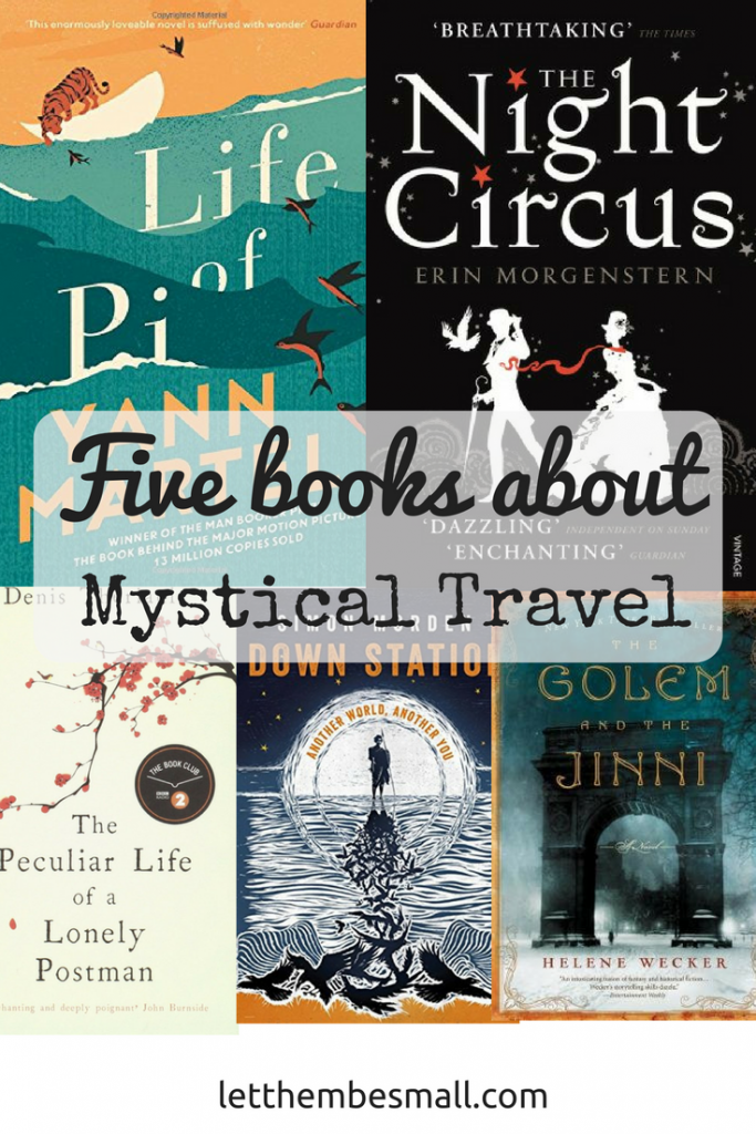 Five books about Mystical Travel - some great suggestions here