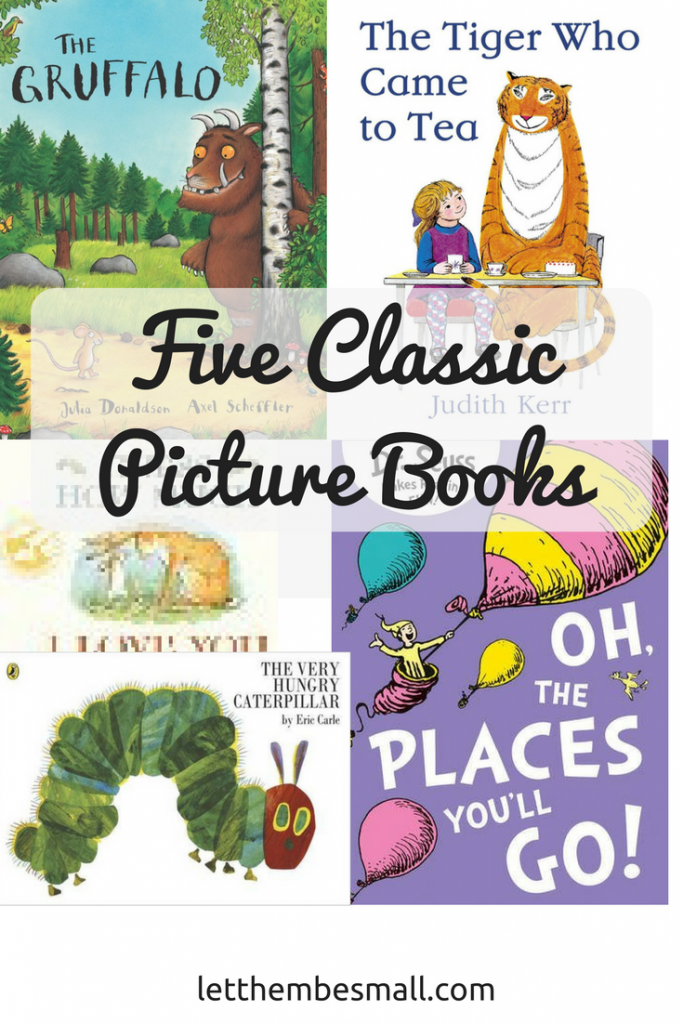 five classic picture books - perfect for sharing with preschoolers