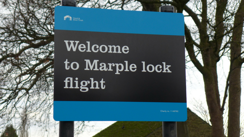 Marple Lock Flight
