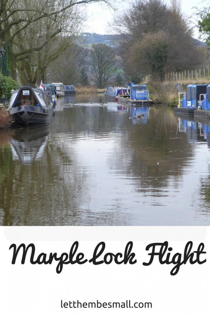 Marple lock flight - great family walk in Marple, cheshire