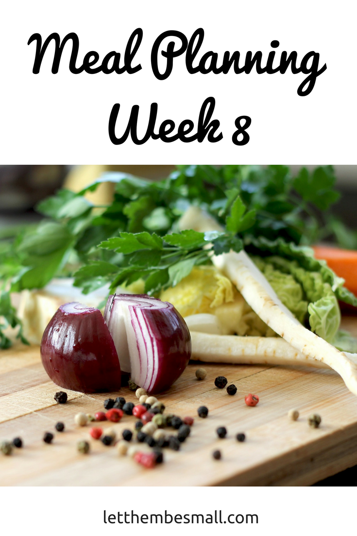 meal planing for a meal of 5 - ideas and inspiration