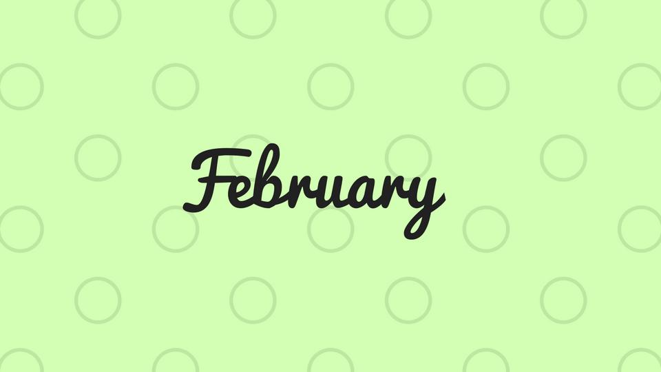 2/12 – February