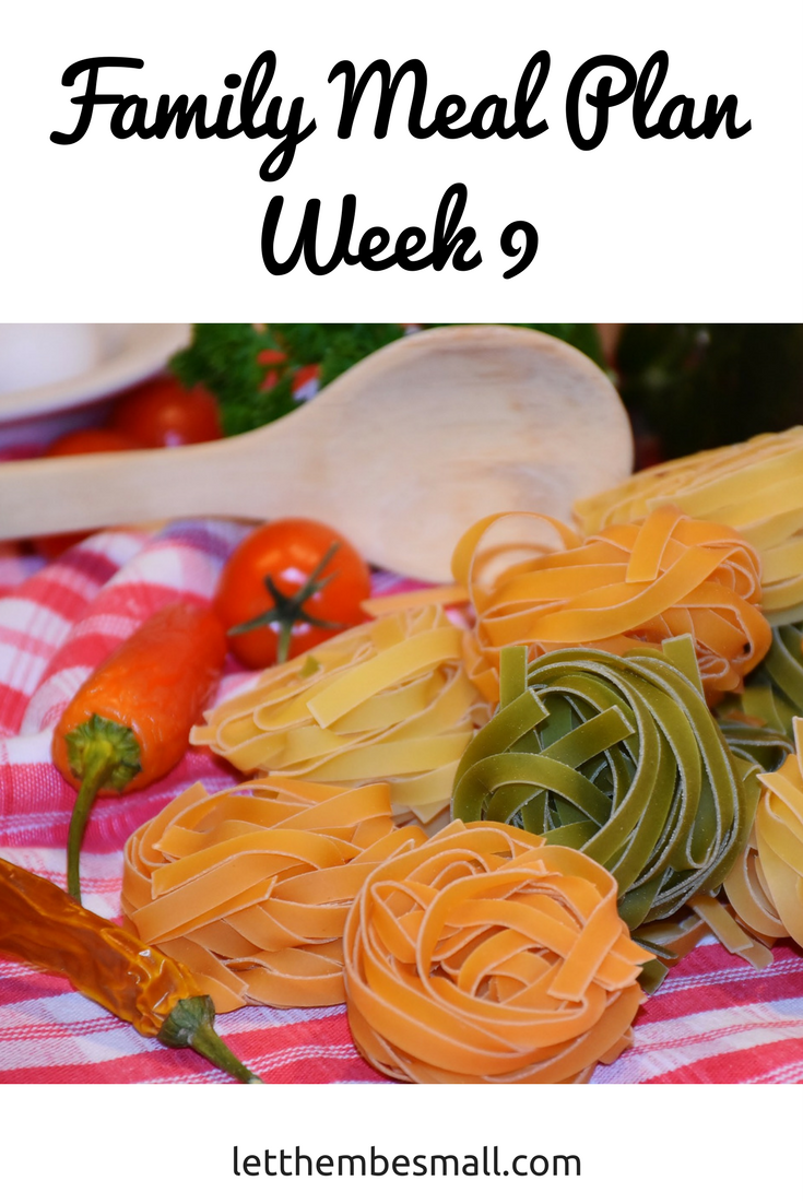 family meal planning ideas