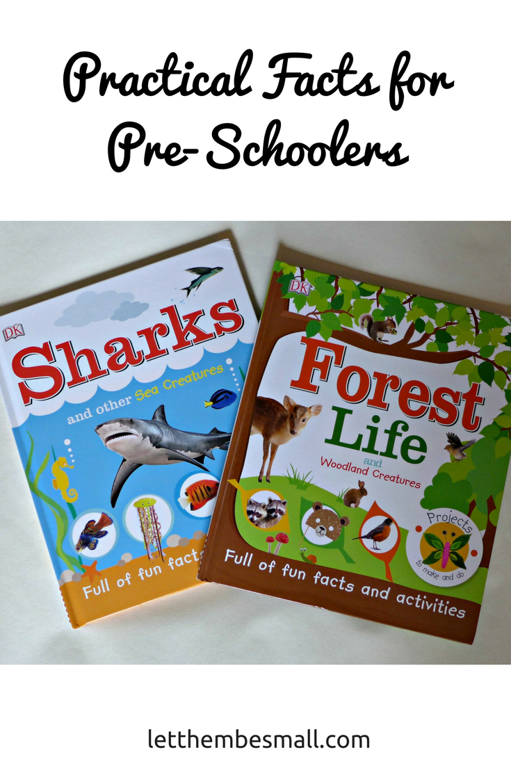 fun facts from Dorling Kindersley for pre schoolers - easy fun facts and great activiites