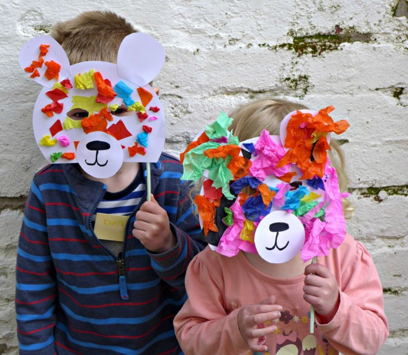simple bear crafts for pre schooler