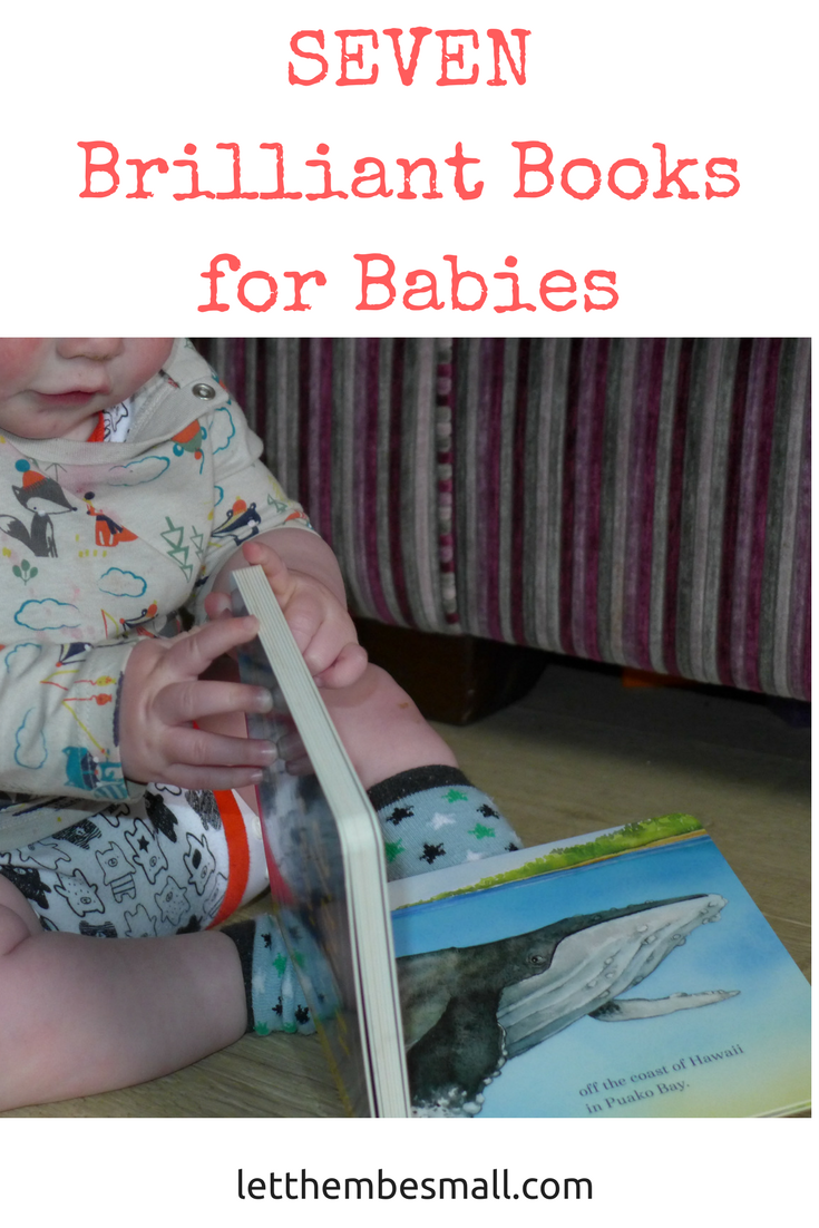 Seven Brilliant Books for Babies to encourage early reading