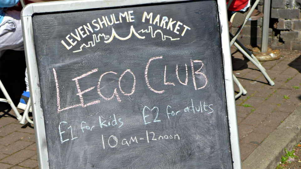 Build it Lego Club at Levenshulme Market