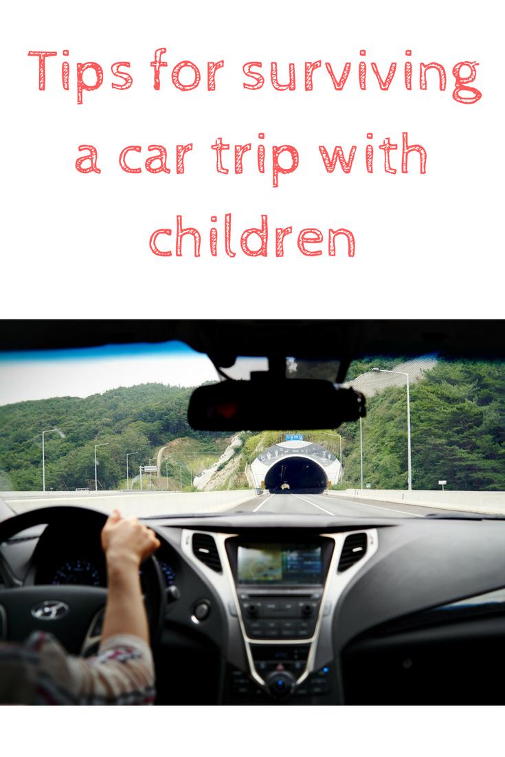 car trip with children