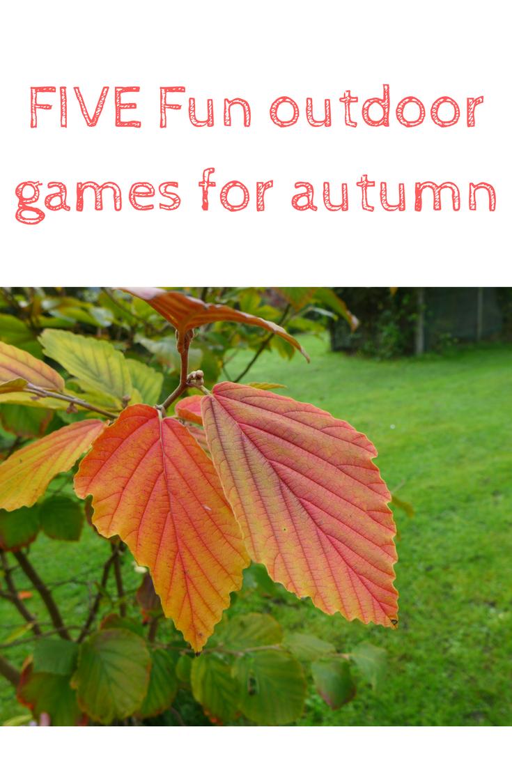 five fun outdoor games for autumn