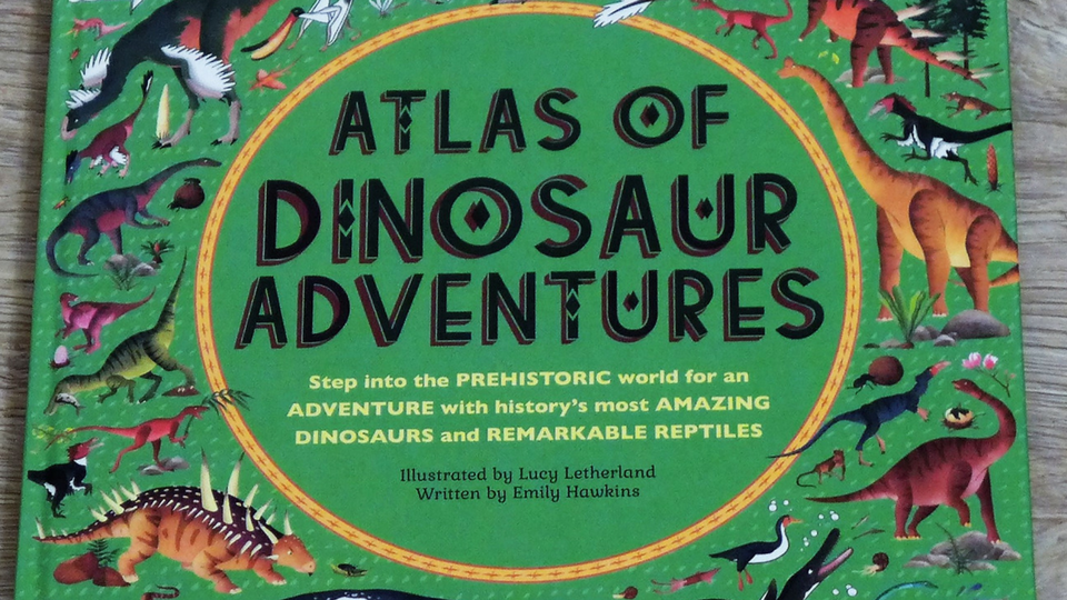 Atlas of Dinosaur Adventures #nonfictiongems
